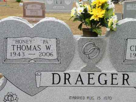 Draeger Family Tombstones